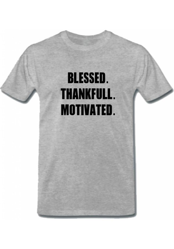 BLESSED THANKFUL MOTIVATED TEE (MEN)