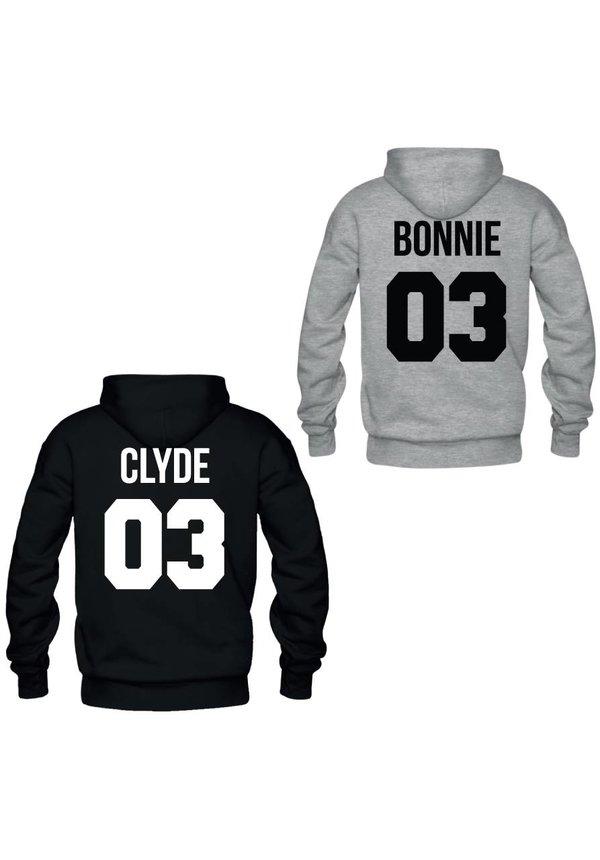 BONNIE & CLYDE COUPLE HOODIES