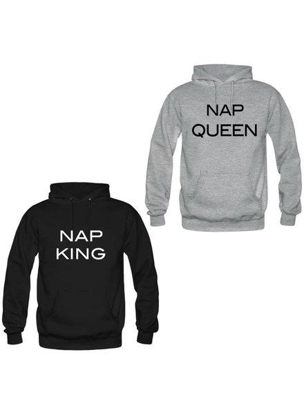 NAP KING & QUEEN COUPLE HOODIES