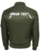 CUSTOM ROCK BAND BOMBER JKT (WMN)
