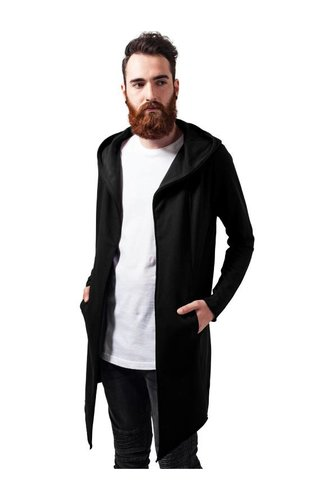 LONG CARDIGAN BLACK (MEN)
