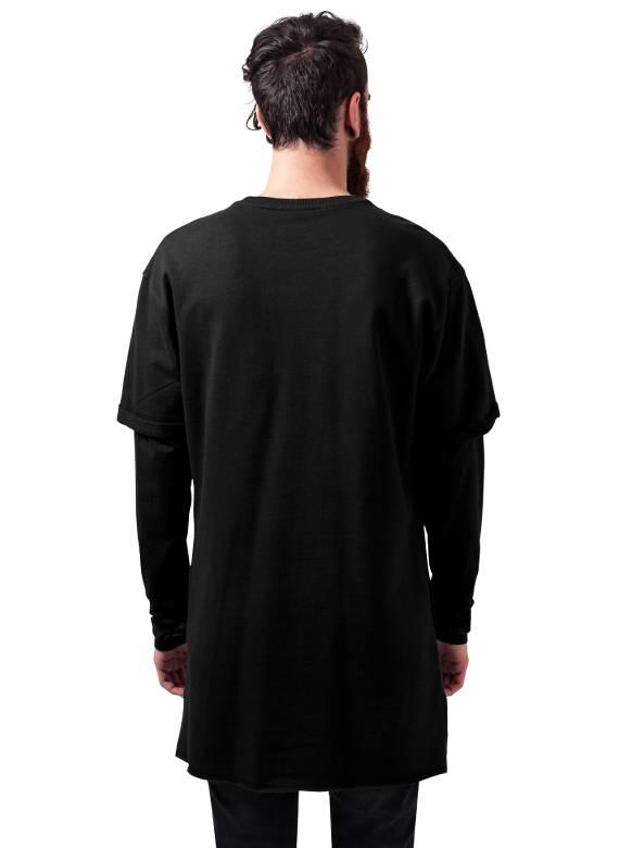 2 IN 1 TERRY LONG CREW BLACK (MEN)