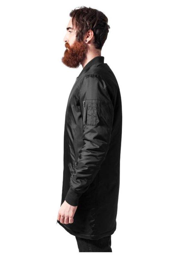 BASIC LONG BOMBER JKT BLACK (MEN)
