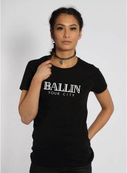 CUSTOM BALLIN TEE (WMN)