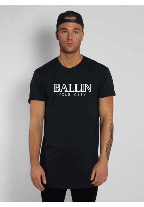 CUSTOM BALLIN LONG TEE (UNISEX)