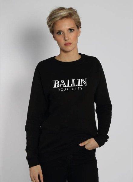 CUSTOM BALLIN SWEATER (WMN)