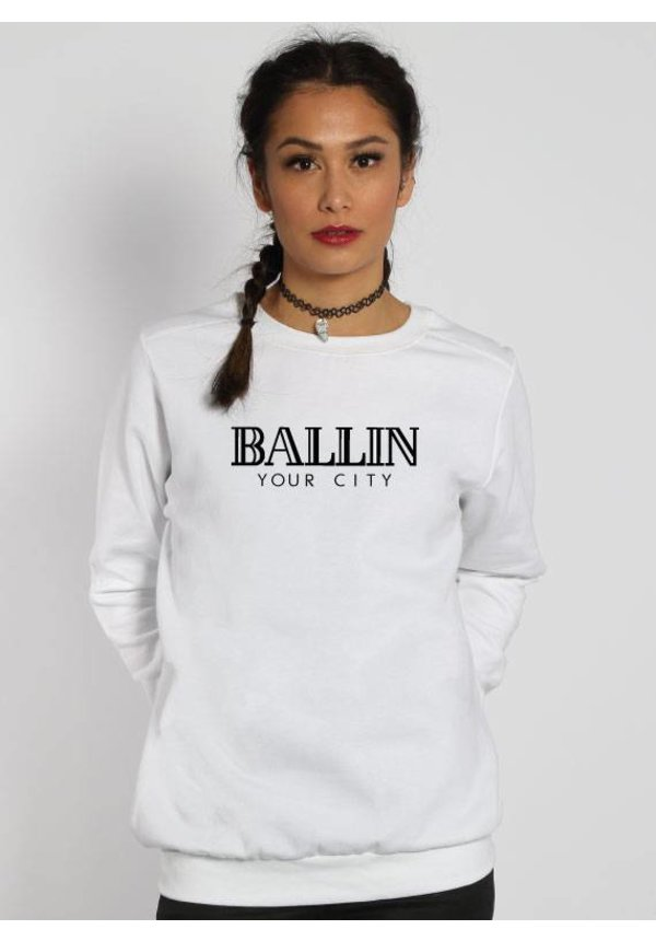 CUSTOM BALLIN SWEATER (WMN)