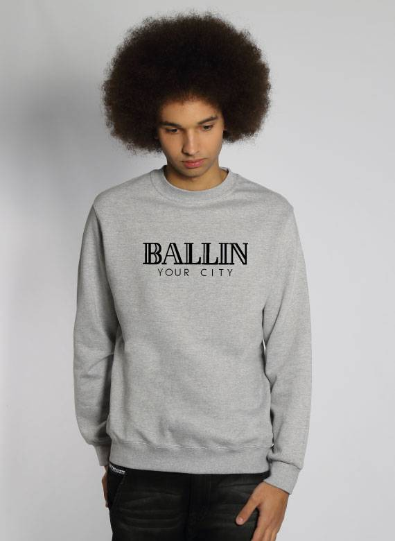 CUSTOM BALLIN SWEATER (MEN)