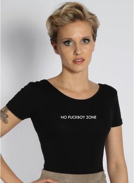 NO FUCKBOY ZONE BODYSUIT (WMN)