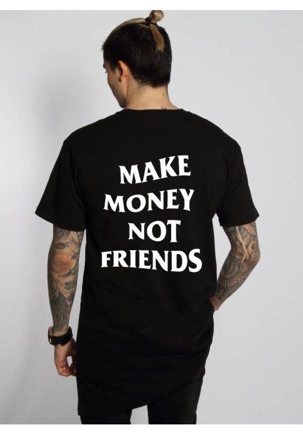MAKE MONEY NOT FRIENDS LONG TEE (MEN)