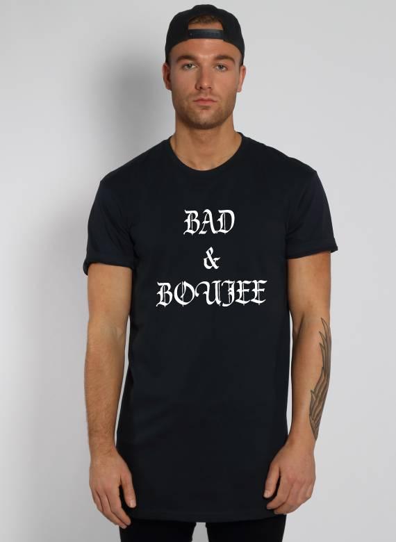 BAD & BOUJEE LONG TEE (MEN)