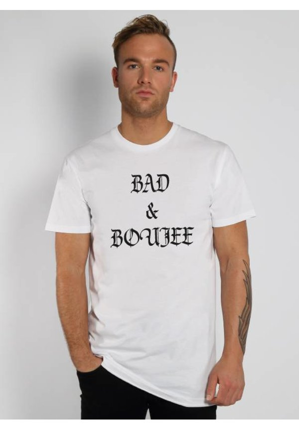 BAD & BOUJEE LONG TEE (MEN)