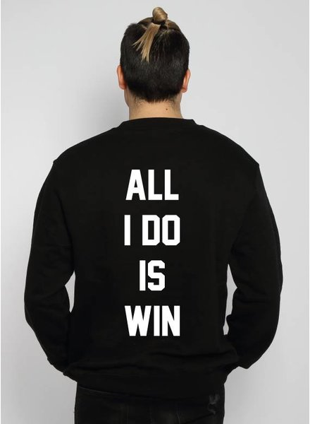 ALL I DO IS WIN SWEATER (MEN)
