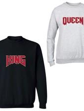 KING & QUEEN ROCK COUPLE SWEATERS