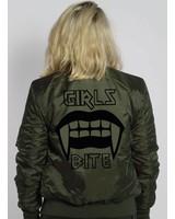 GIRLS BITE BOMBER JKT