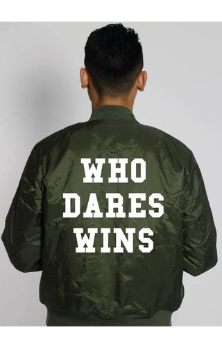 WHO DARES WINS BOMBER JKT