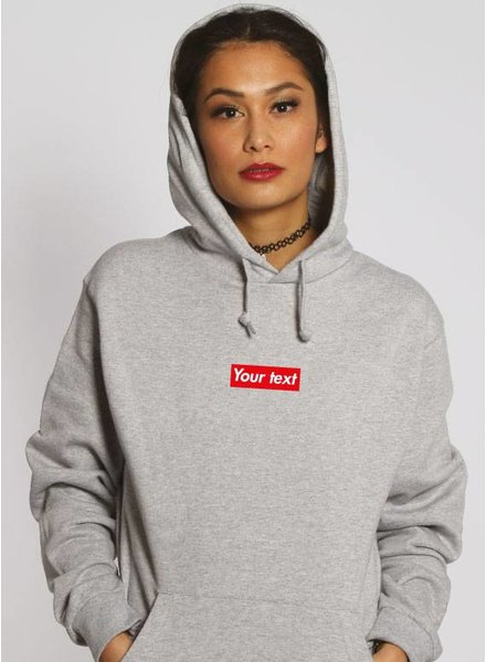CUSTOM RED BOX HOODIE (WMN)