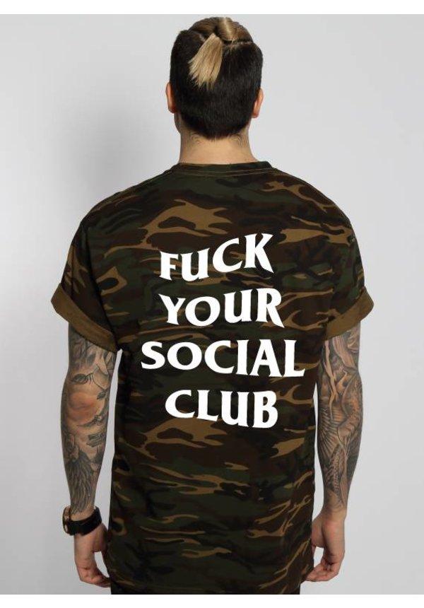 FUCK YOUR SOCIAL CLUB TEE (MEN)