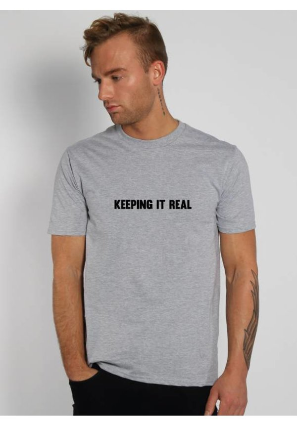 KEEPING IT REAL TEE (MEN)