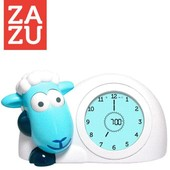 Zazu Sam Slaaptrainer - Kinderwekker Schaap Blauw