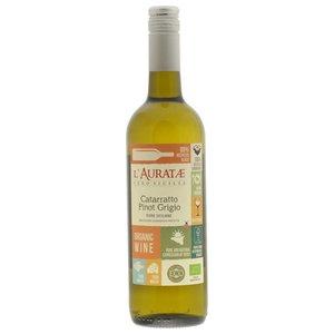 2016 l'Auratae Catarratto Pinot Grigio BIO