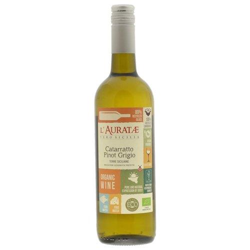 2017 l'Auratae Catarratto Pinot Grigio BIO