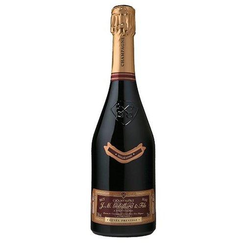J.M. Gobillard et Fils Rosé Champagne, J.M. Gobillard et Fils, Cuvee Prestige 37,5cl Halfje