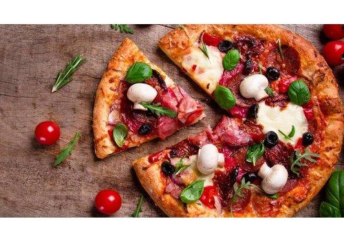 Pasta- en pizzagerechten
