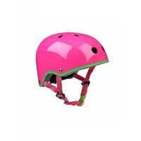 Micro helmet neon pink