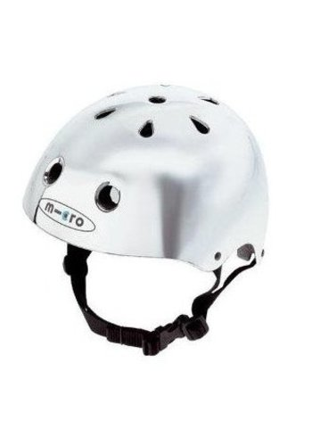 Micro helmet silver (foam fitting)