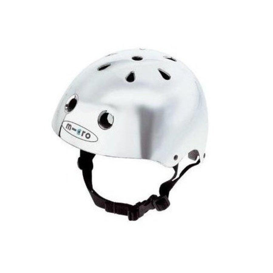 Micro helm zilver