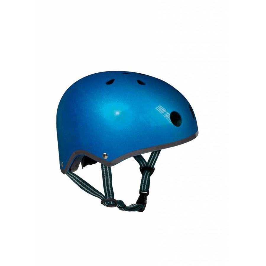 Micro helm donkerblauw metallic