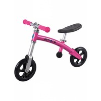 Micro G-bike+ Light loopfiets roze