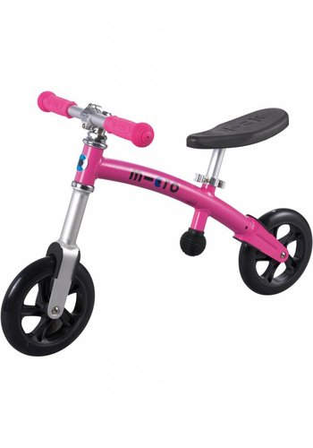 Micro G-bike+ Light balance bike Pink