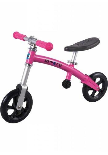 Micro G-bike+ Light loopfiets roze
