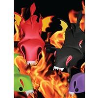 Stuurheld draak (Handlebar Heroes) in 4 kleuren