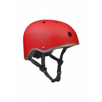 Micro helmet matt red