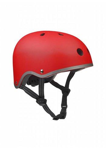 Micro helm mat rood