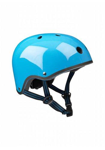 Micro helmet neon blue