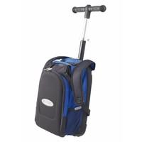 Maxi Micro rugzak/trolley met T-bar blauw