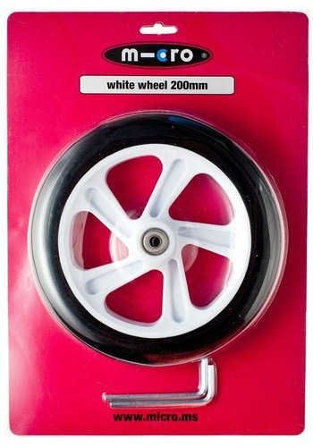 Micro wheel 200mm White (AC-5009B)