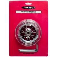 Micro wiel 120 mm clear (AC-5005B)