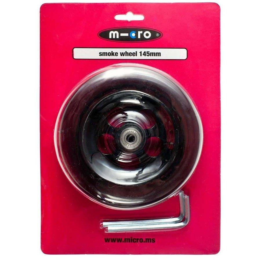 Micro wiel 145mm transparant (AC-5007B)