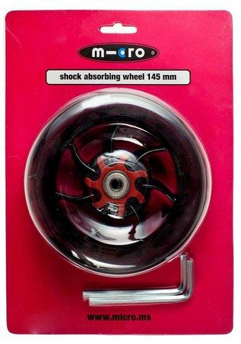 Micro wiel 145mm transparant (AC5008B)