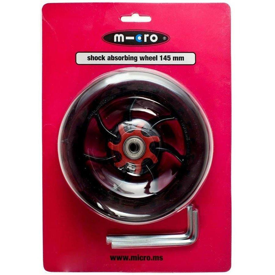 Micro wiel 145mm transparant (AC-5008B)