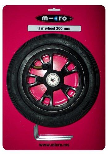 Micro wiel met luchtband 200mm (AC5012B)