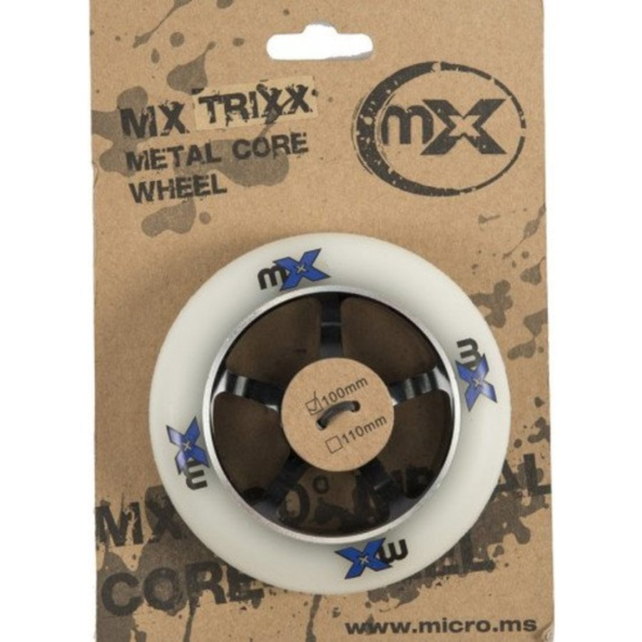 Micro MX 100mm Metal Core stuntwiel (MX1205)