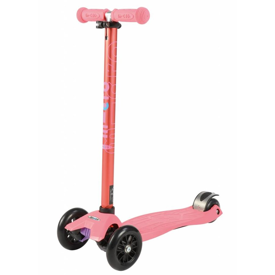 Maxi Micro scooter Metallic Coral Pink