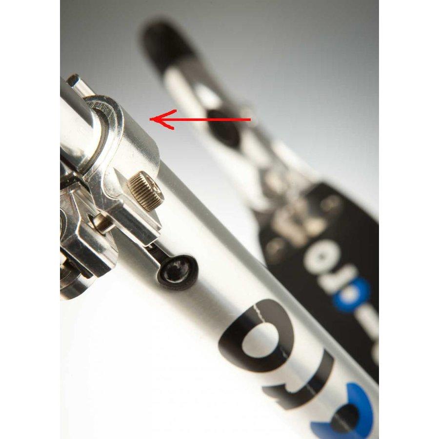 Stuurklem Micro step aluminium (1025)