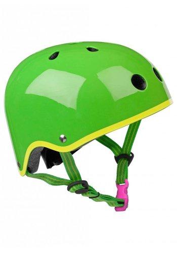 Micro helmet green